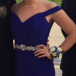 Jovani Dresses - Blue Jovani Prom Dress